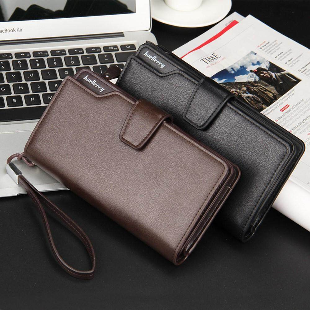 4GL Baellerry S1063 23 Card Slots Long Wallet Leather Dompet - 2 .