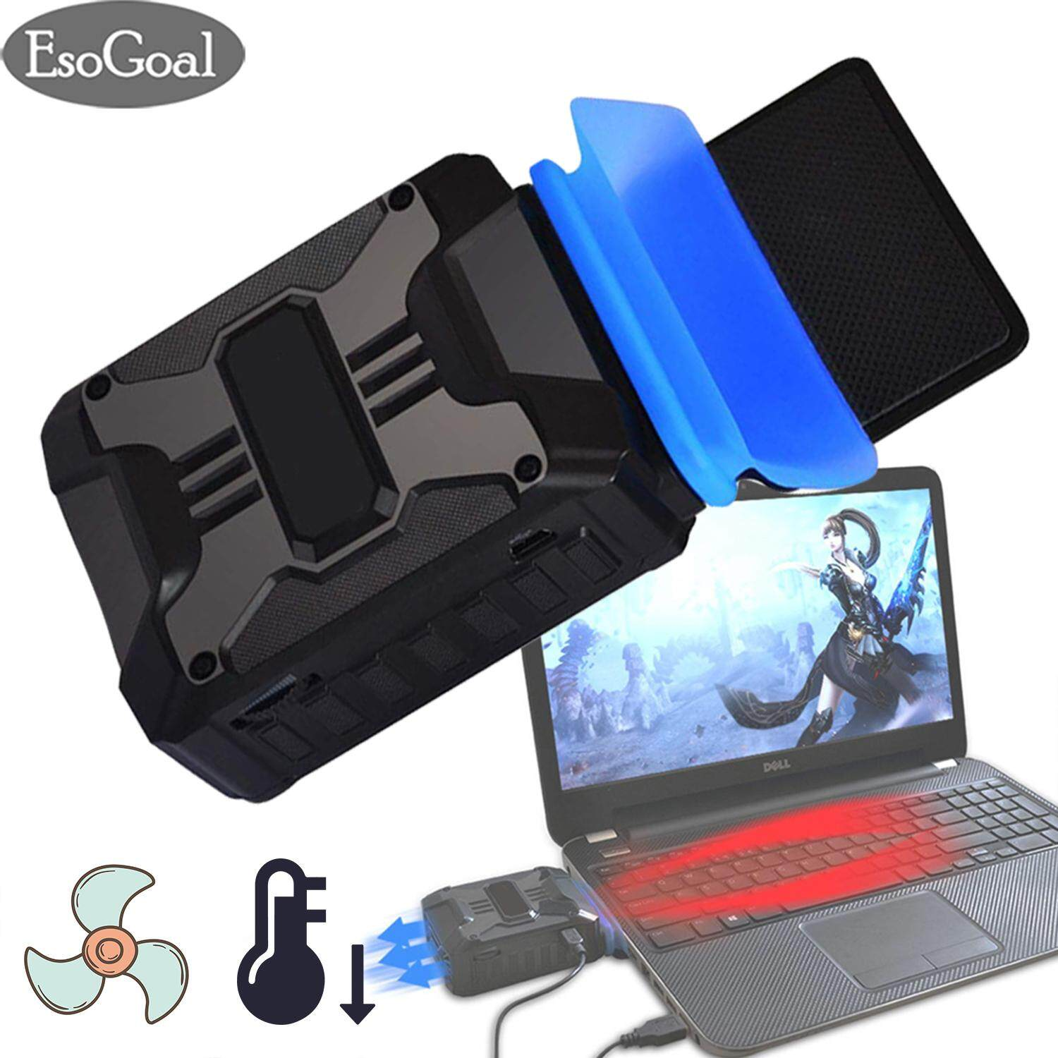 EsoGoal Laptop Cooling Fan Laptop Cooler USB Portable Cooling Fan for Laptop Cooler Stand Laptop Vacuum Cooler Laptop Air Cooler for Notebook Laptop
