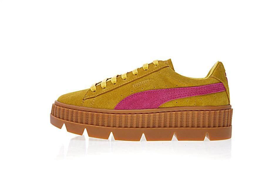 Rihanna x Puma Fenty Suede Cleated Creeper skateboarding shoes 366267-03 8d5ceb116