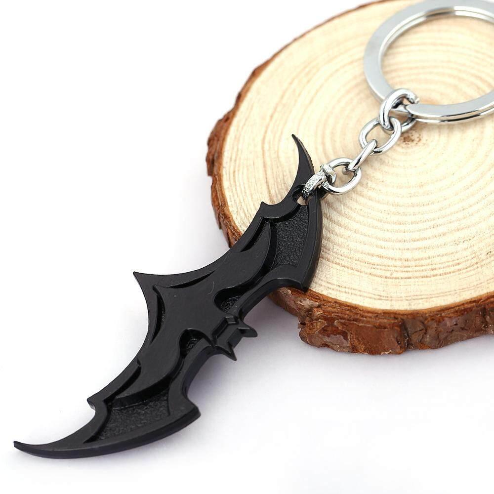 3D Batman Logo Keychain 2(Black)