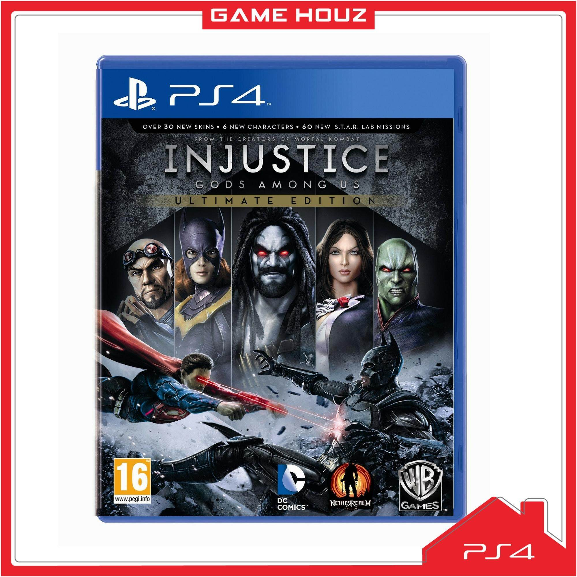 Sell Ps4 Injustice God Cheapest Best Quality My Store Sony Playstation 2 R3 Myr 109