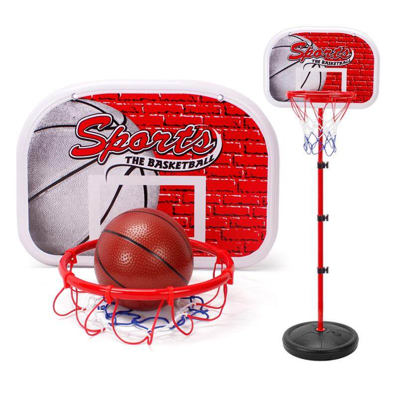 Child outdoor games basketball can ascend and descend to shoot the basket a  household-use indoor baby of frame ball little boy toy