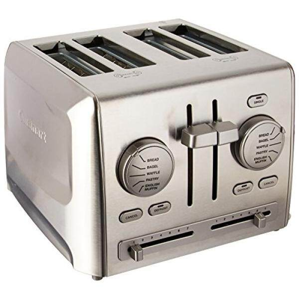 Cuisinart CPT-640 4-Slice Metal Toaster, Stainless Steel