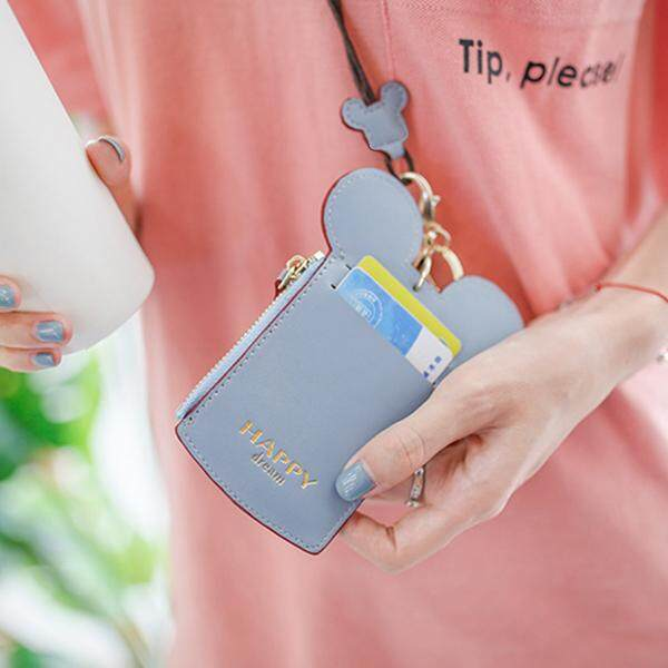 Fashion Women Cute Animal Shape Card Holder Wallet Purse Neck Bag Purses Pouches By Ferry.