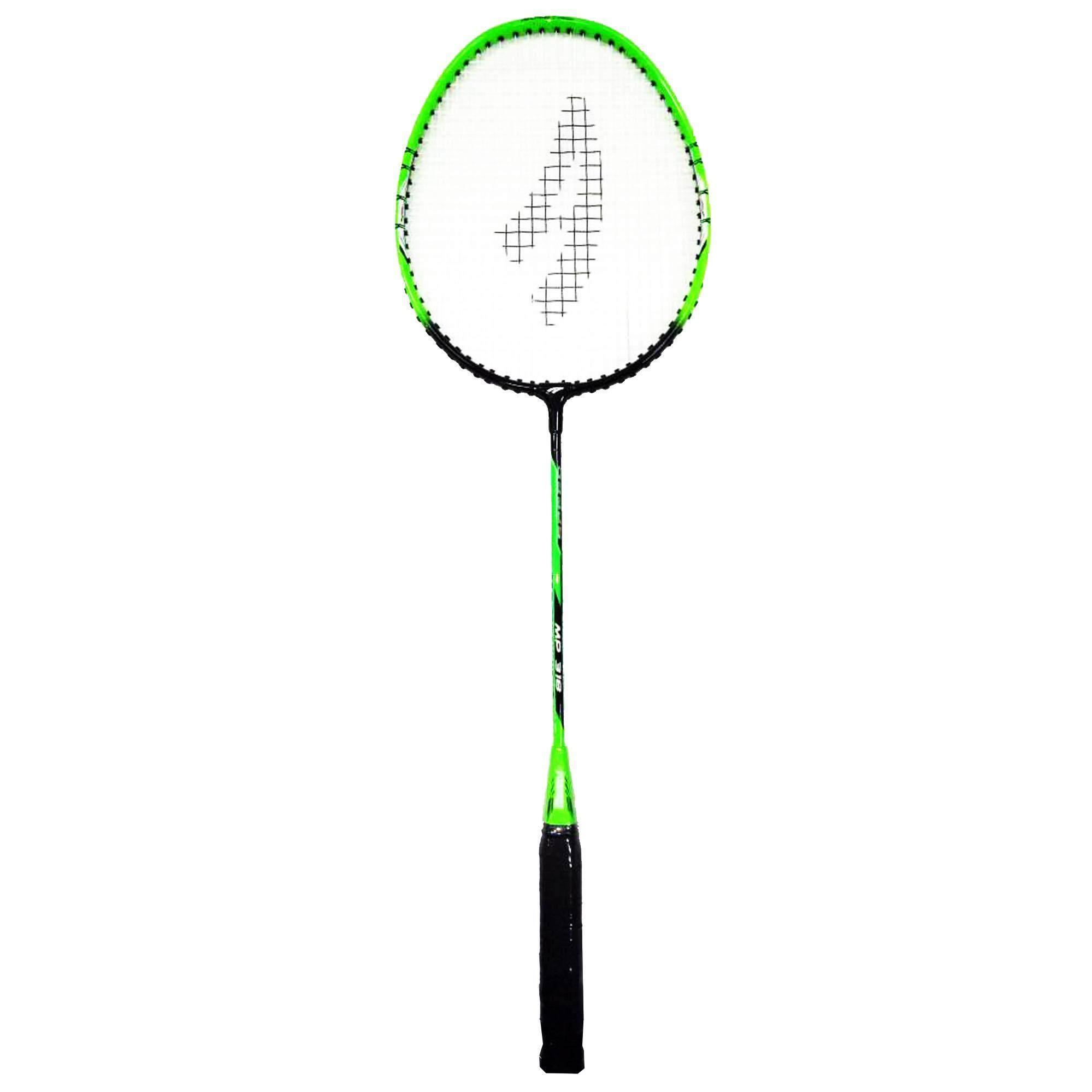 Ambros MP-318 T-Joint Badminton Racket - Green/Black