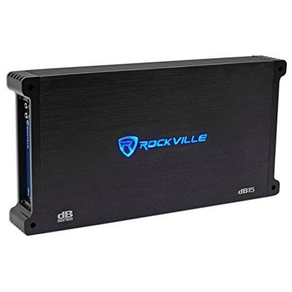 Rockville dB15 6000 Watt/3000w RMS Mono Class D 2 Ohm Amplifier Car Audio Amp / From USA