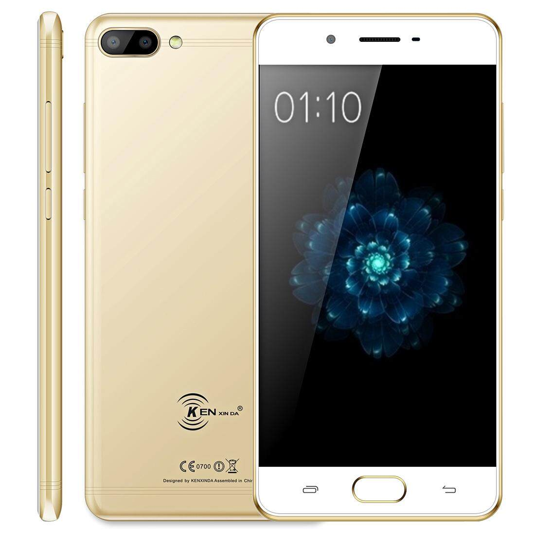 KEN XIN DA X6 3GB+32GB Dual Cameras Fingerprint Identification 5.0 inch Android 7.0 MTK6737 Quad Core 1.5GHz Network