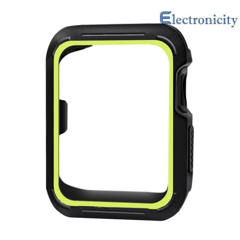 Hình ảnh Soft Silicone Bumper Cover Protective Case for Apple Watch Series 1/2/3 M