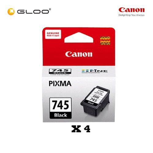 [Set of 4] Canon PG-745 Ink Cartridge - Black