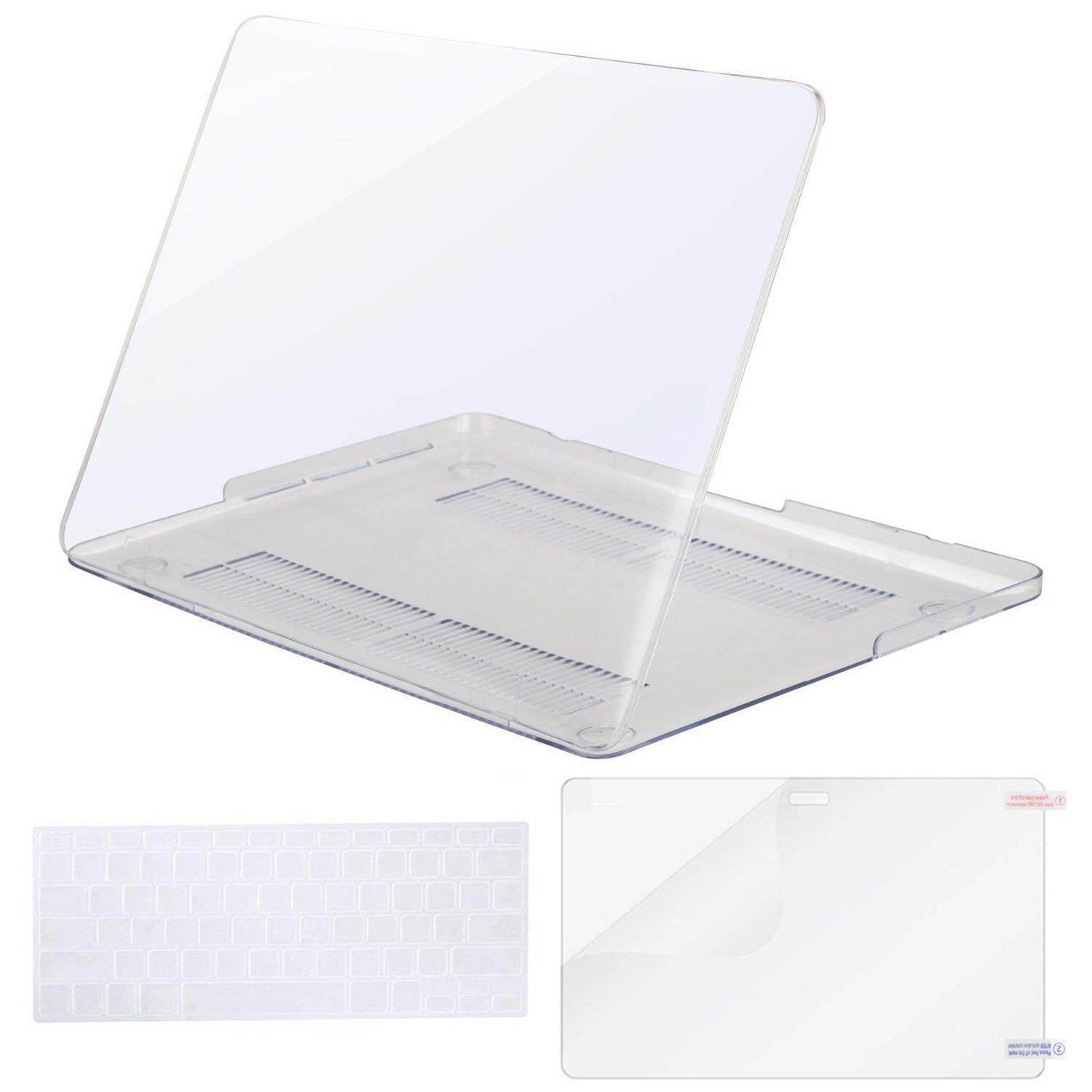 MacBook Plastic Hard Case Shell with Keyboard Cover with Screen Protector Only Compatible Macbook Pro 15 NO CD ROM(Model:A1398)Retina, 15 inch, Mid 2012/2013/2014/Mid 2015