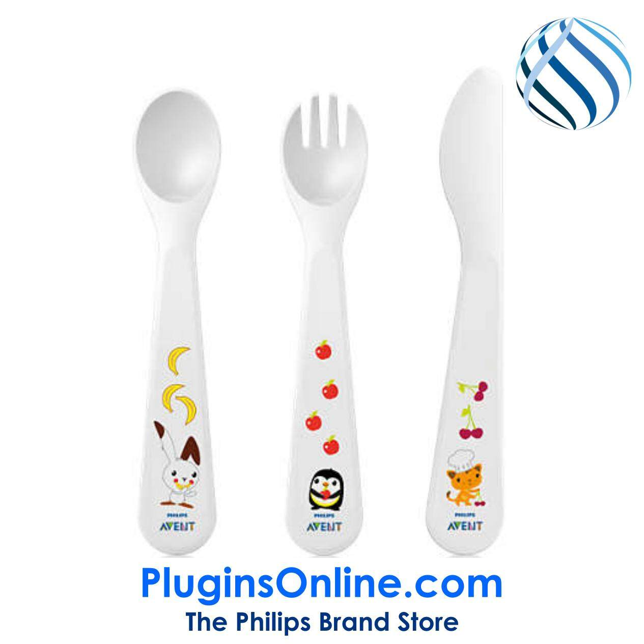 Philips Avent SCF714/00 Toddler fork, spoon and knife 18m+