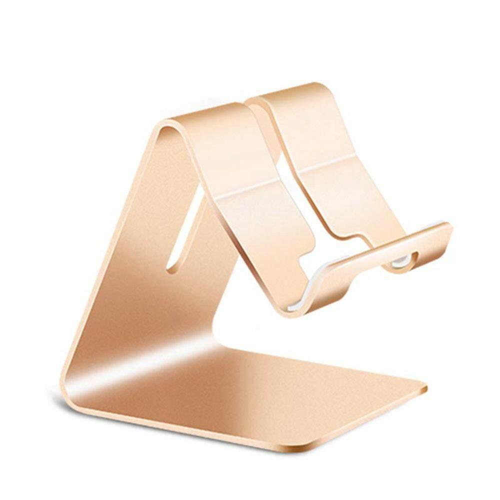 SeaLavender Aluminum alloy mobile phone tablet metal lazy bracket Adjustable charging mobile phone holder desktop double