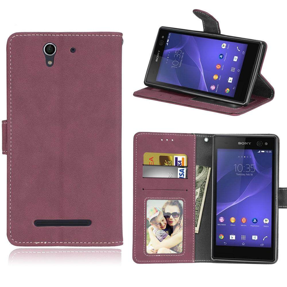 Sony Xperia C3 Casing Cover Flip - PinkIDR81000. Rp 88.000 .