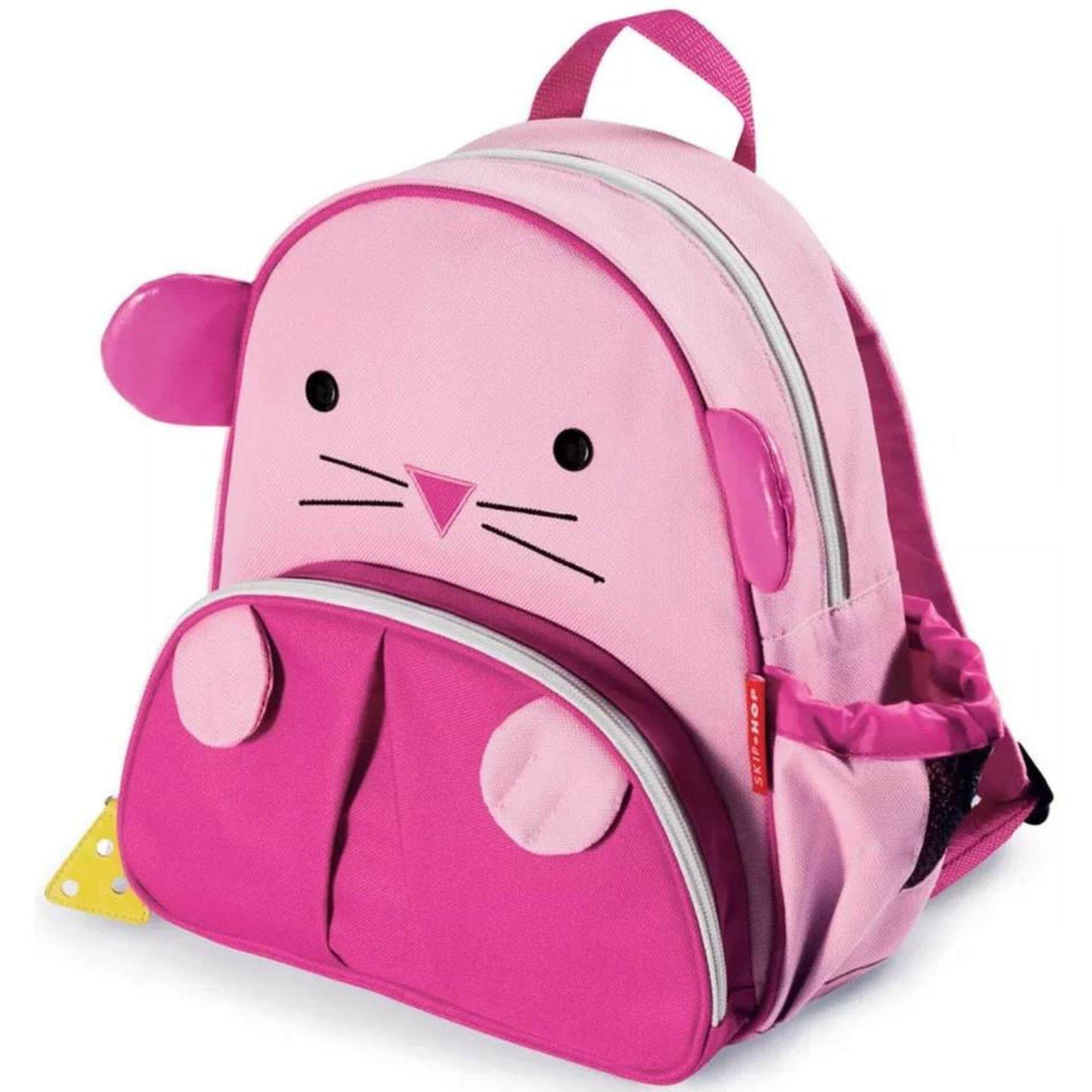 TEEMI Animal Design School Bag / Backpack for Kid - Pink Mice