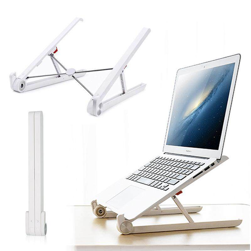 OrzBuy Portable Laptop Stand Foldable Adjustable Notebook Holder Laptop Stand For Desk Adjustable Portable Cooling Lightweight Compact Universal Fit For PC Macbook Computer - intl