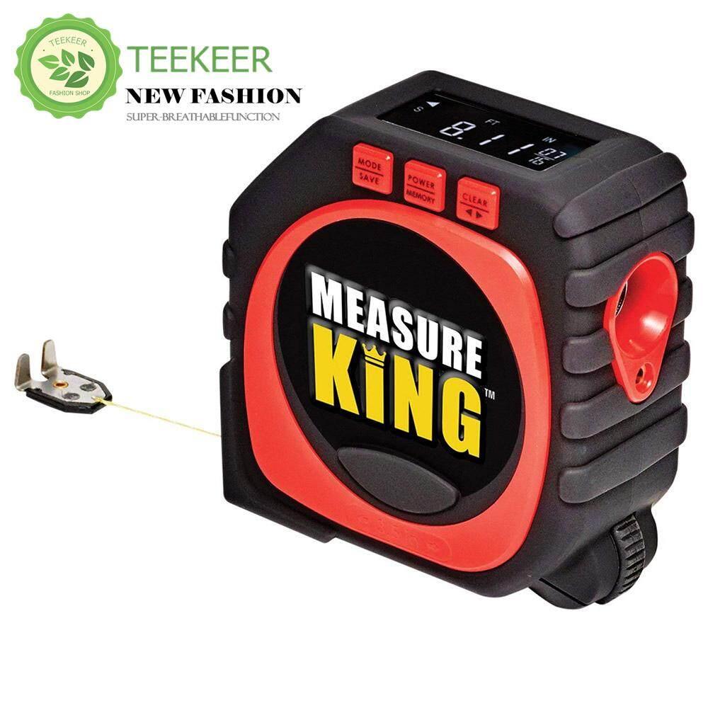 Teekeer Digital Tape Measure, 2018 Newest 3 In 1 Led Digital Display Laser Measure King All And Any Surfaces By Teekeer.