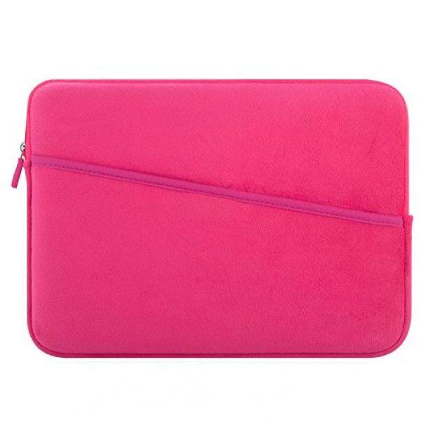 Laptop Sleeves Laptop Sleeve KAOPU 13 - 13.3 Inch Protective Laptop Bag Case for MacBook Air & MacBook Pro 2016/2017, MacBook Pro Retina Late 2012, 12.9 inch iPad Pro 2017, HP, Dell, Asus, Acer (Rose Red) - intl