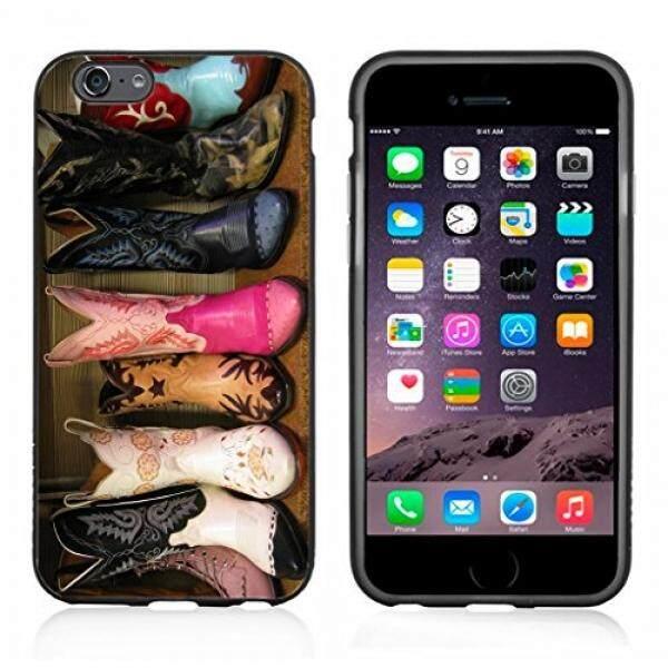 Smartphone Case S Warna-warni Sepatu Bot Koboi Case/Cover untuk iPhone 6 atau 6 S dengan Atom Pasar-Intl