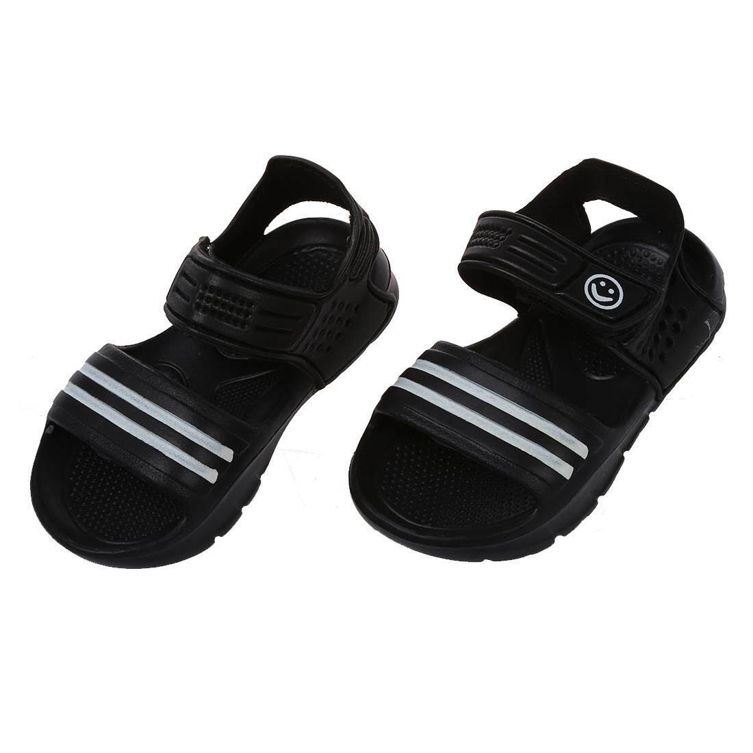 Fitur Dinielephant Black Summer Children Sandals Slip Resistant Wear Pollenzo On Trendy White Small Boy Casual Girls