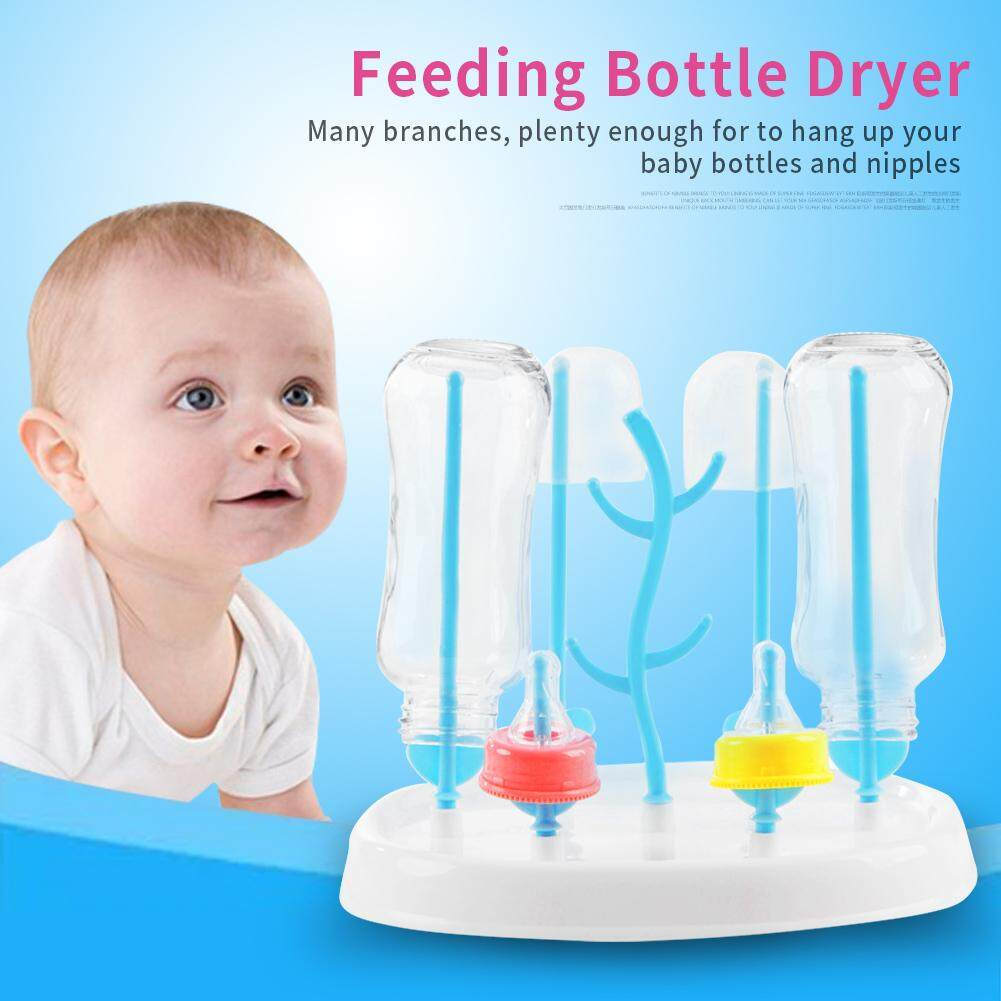 Detachable Baby Infant Feeding Bottle Dryer Drying Rack Shelf Storage Holder Tools By Beautytop.