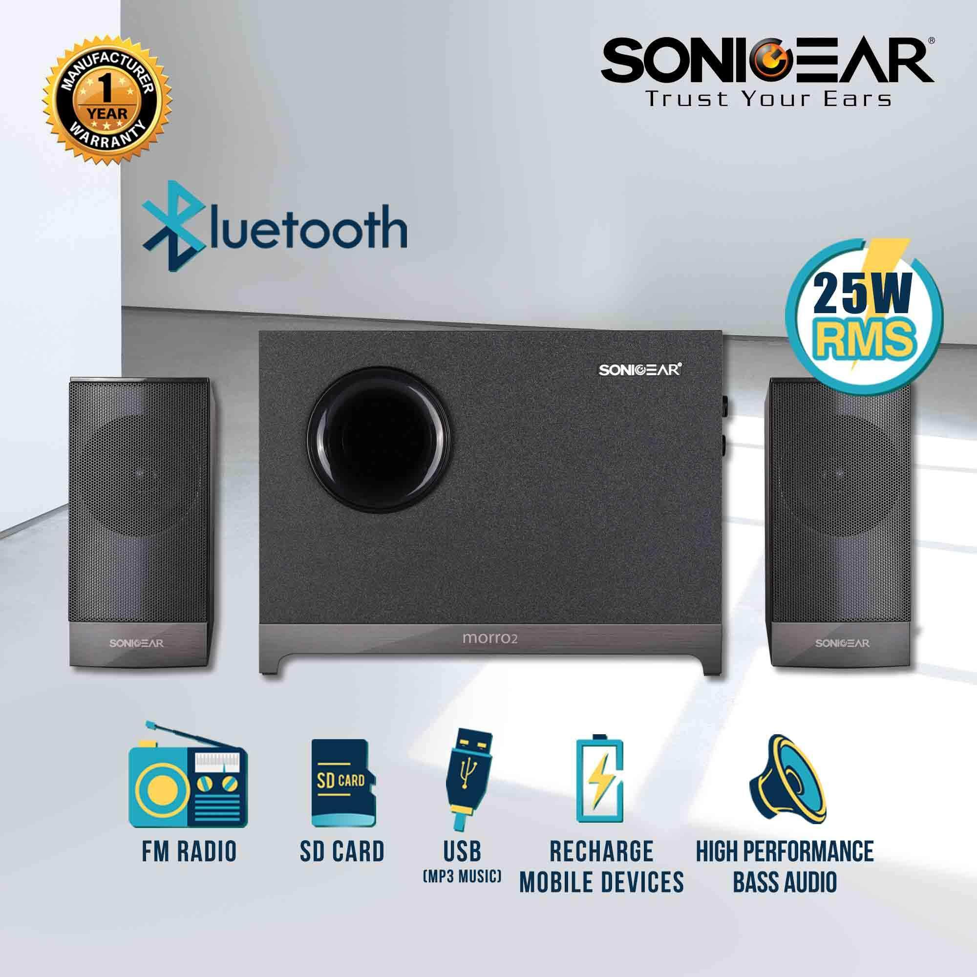 Fitur Microlab Speaker M300u 2 1 38 Watt Usb Sd Card Fm Radio Hitam Bluetooth Leather Black Morro Btmi With Slot Mp3
