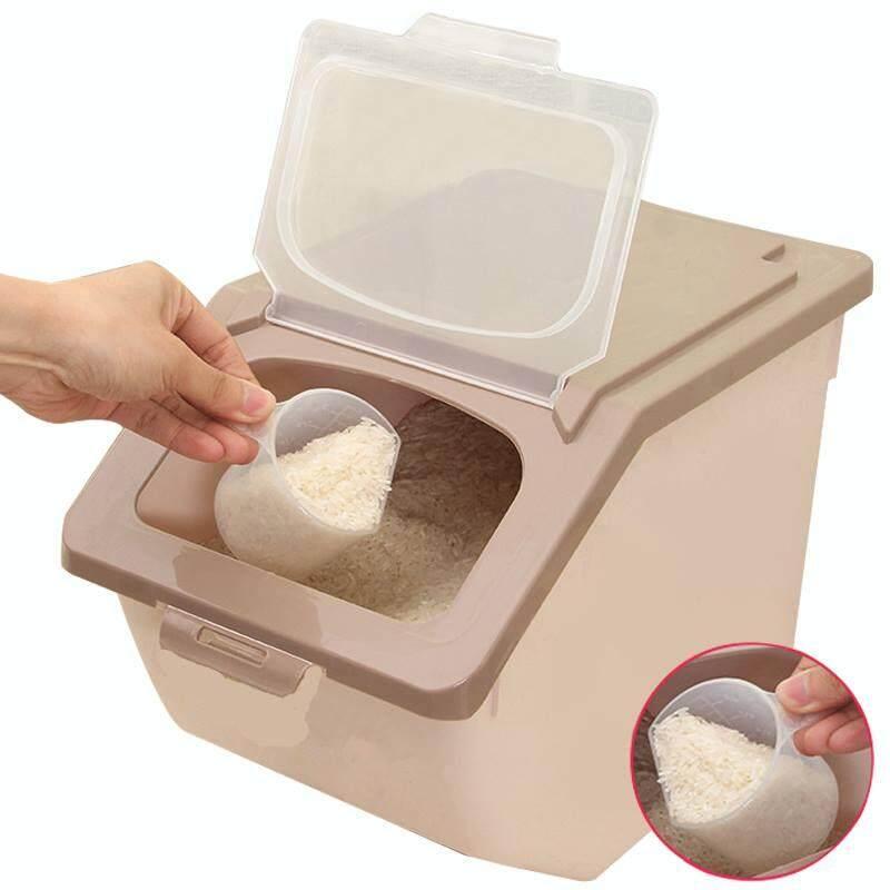 High Quality Rice Storage Box With Wheels 10kg
