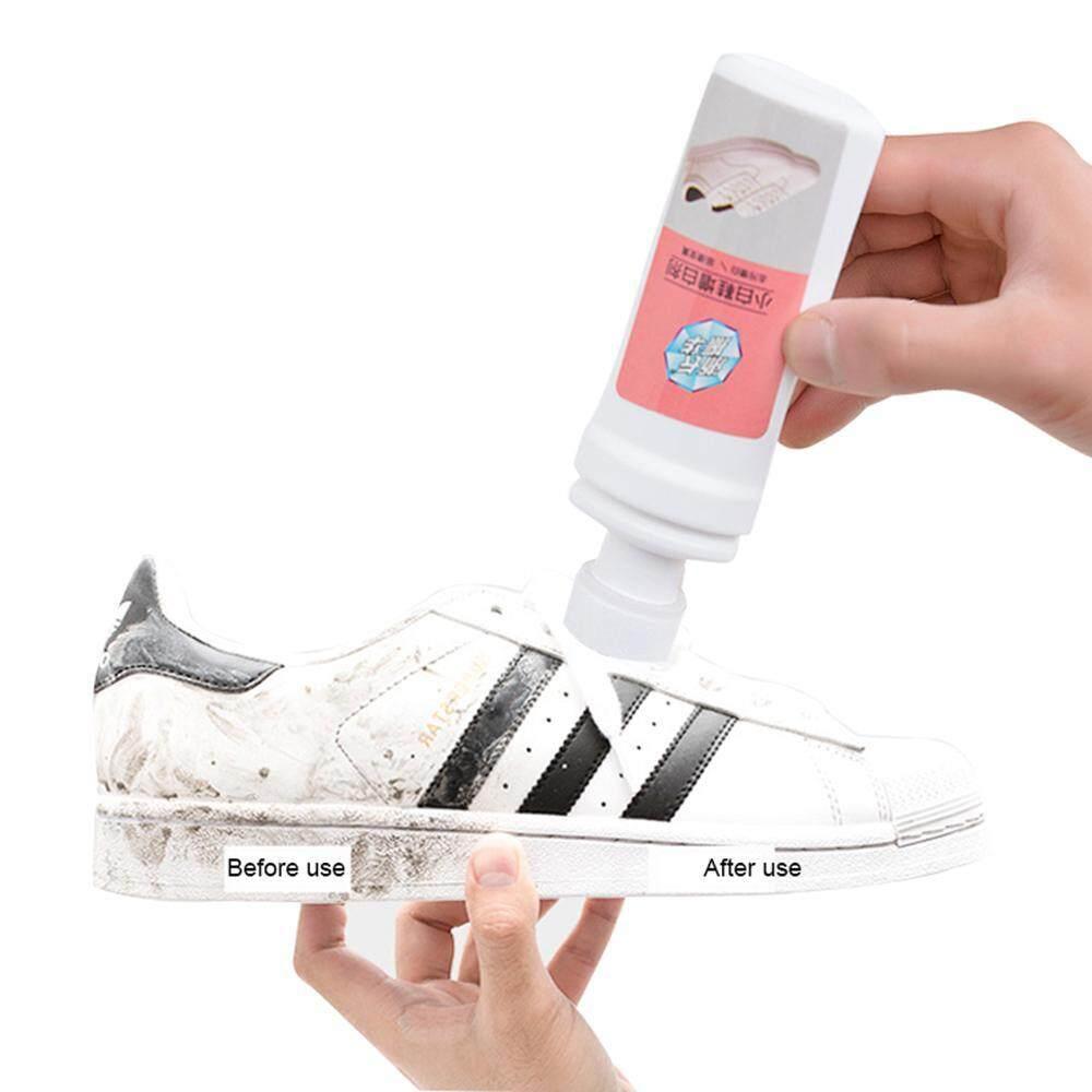 Leegoal Kecil Sepatu Putih Dekontaminasi Brightener Bagian Atas Melengkapi Warna Sepatu
