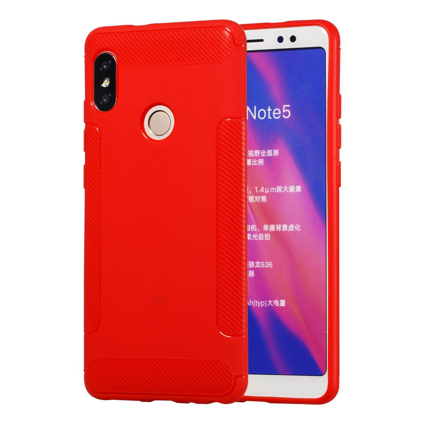 Olizard For XIAOMI Redmi S2/Y2 TPU Matte Back Cover Non-slip Shockproof Full Protective Case Style:XIAOMI Redmi S2/Y2