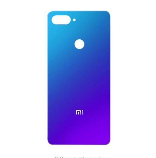 Untuk Xiaomi Mi 8 Lite Asli Belakang Penutup Belakang Perumahan Pintu untuk Xiaomi Mi 8 Pemuda