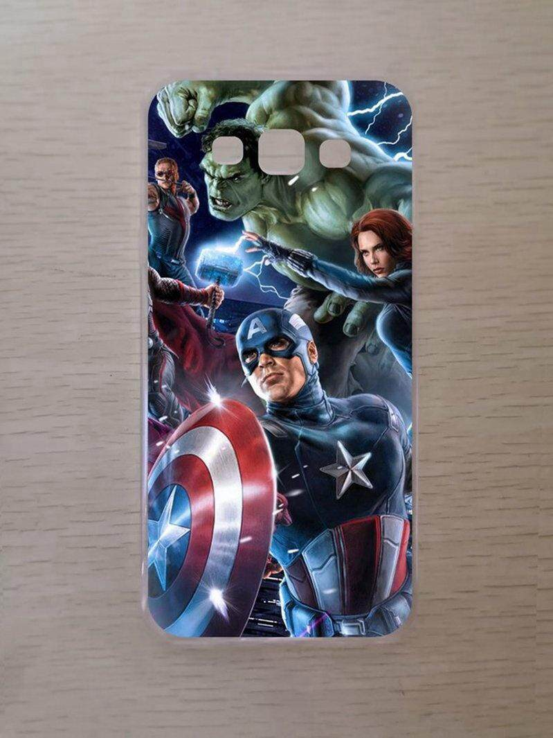 Features Captain America Silicon Soft Case Cover For Samsung Galaxy Grand Neo Plus I9060 Avengers Tpu A8 2015