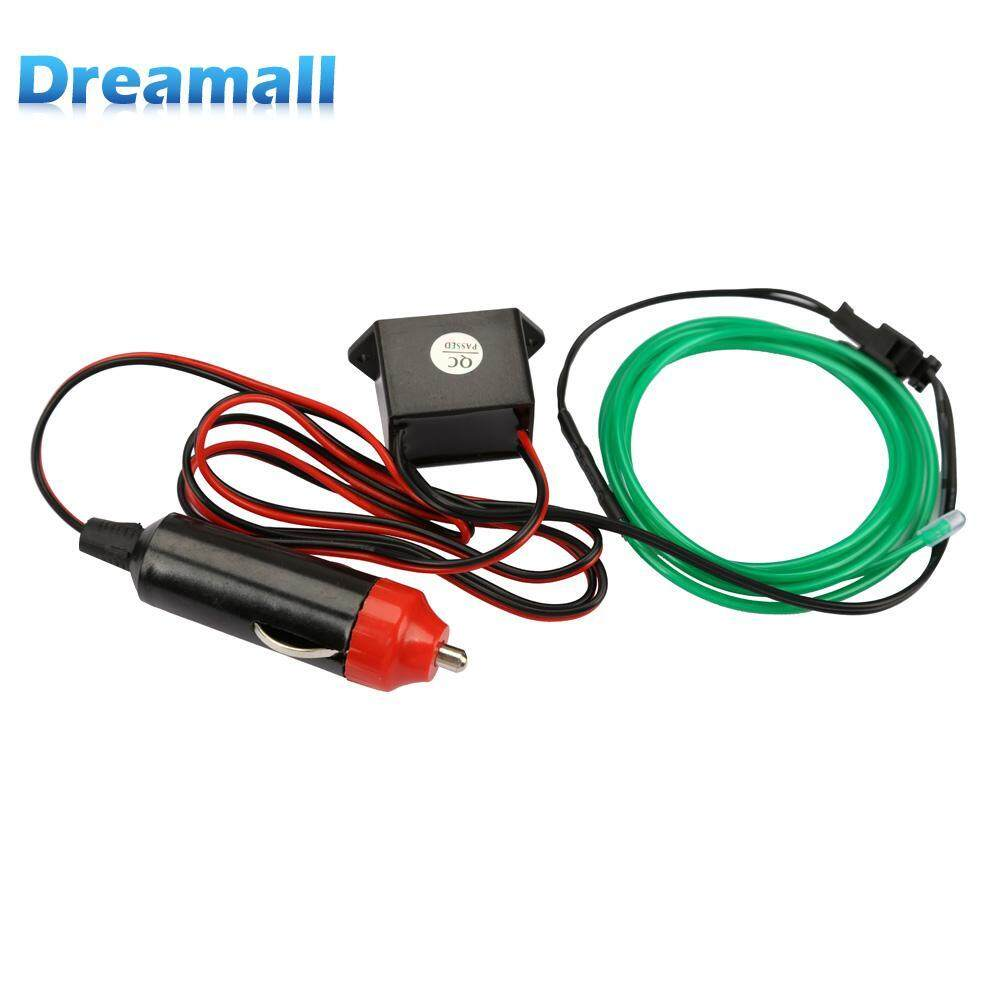 Automotive Wiring For Sale Harness Online Brands Toyota 20 Pin Stereo Green 1m Flexible Neon Cold Light Car Glow Strip El Wire With 12v Inverter