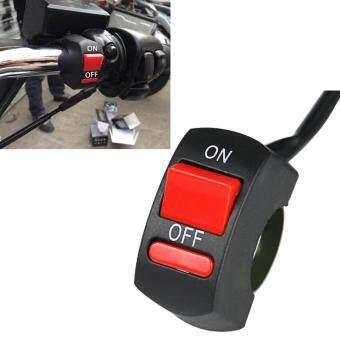 Harga Preferensial Setang Sepeda Motor Universal Lampu Kabut Switch 12 V DC Sakelar Kepala Tombol On Off Untuk U2 U5 U7 U8 LED
