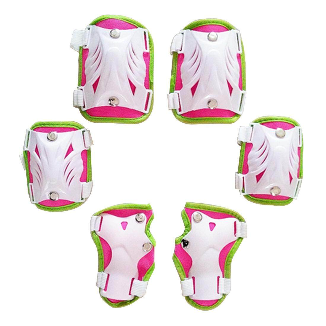 Giá bán 360WISH 6Pcs Child Sport Safety Protective Body Gear Sets for Skating Joint Protection - Pink