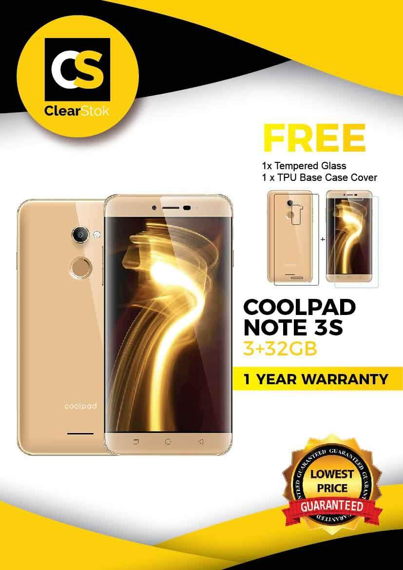 Coolpad Note 3S * New Set Imported 3+32GB @ RM399 Only