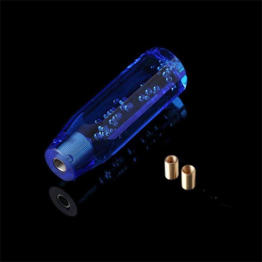 Osman Universal Crystal Bubble LED Bercahaya Shift Knob Mobil Kepala Shifter Manual Gear