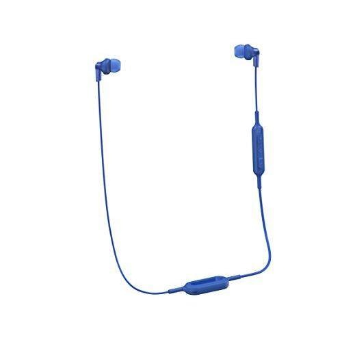 Panasonic Wireless Bluetooth in-Ear Headphones with Sound Mic Controller & Quick Charge Function Blue