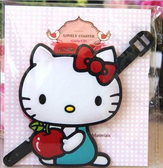 Cute Hello Kitty Luggage Tag