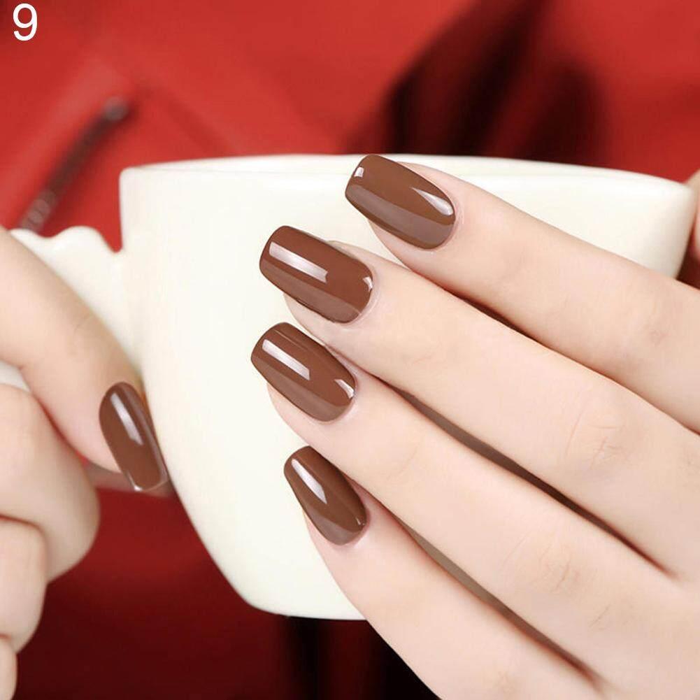 Women Nail Art Manicure Pigment Varnish Coat Soak Off Gel Polish LED UV Polishes