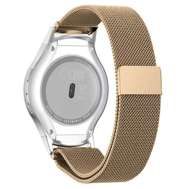 Milanese Magnetic Loop Stainless Steel Band+Connector For Samsung Gear S2 720 PK