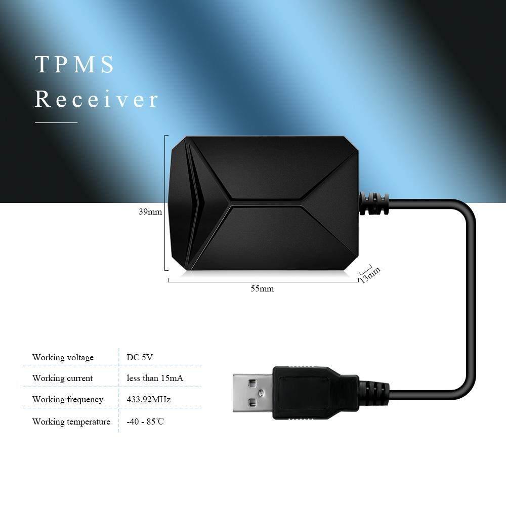 CST-TY06 Pemantau Tekanan Ban Sistem USB TPMS untuk Kebanyakan Kendaraan