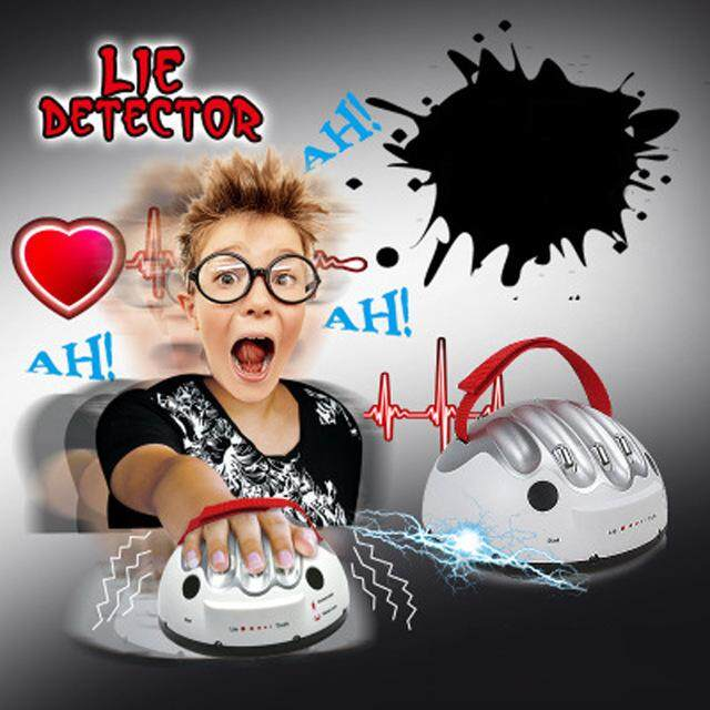 Polygraph Funny Adjus table Adult Polygraph Test Electric Shock Lie Detector Shocking Liar truth or Dare Game consoles