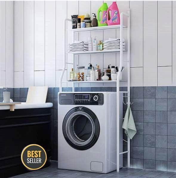 BATHROOM AND WASHING MACHINE RACK
