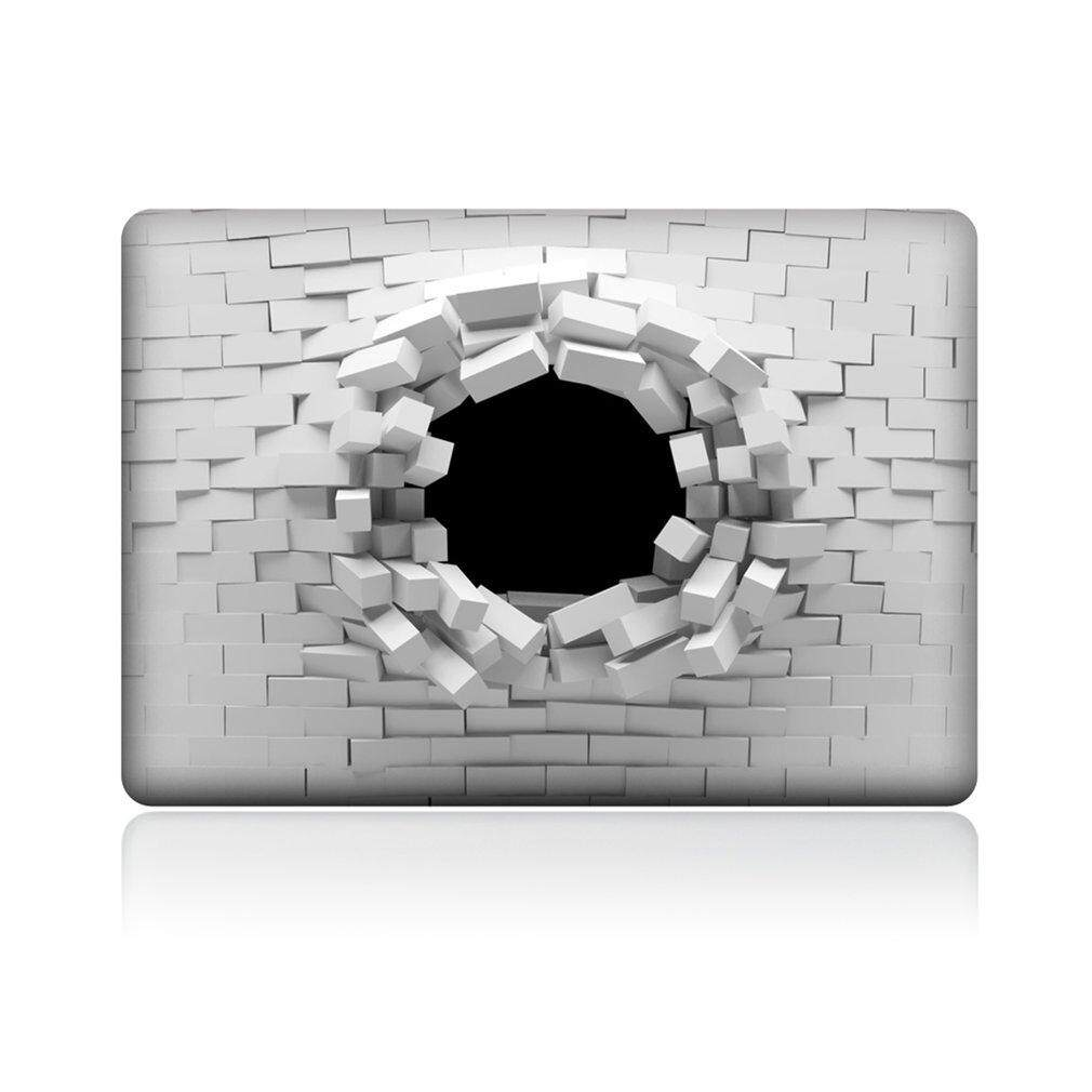 TZ-04 PVC Printed Removable Full Body Upper Cover Sticker for 13 Macbook Air - intl