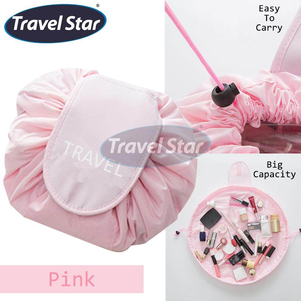 Travel Star TRAVEL Portable Beauty Drawstring Travel Makeup Bag Travel Organizer Storage Jewellery Cosmetic Organizer