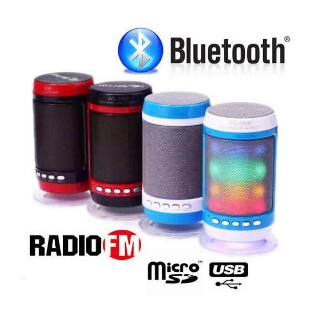(Best Buy) WS-1806B WSTER Ori Bluetooth FM, Memory Card, Bluetooth, USB. (High Quality Speakers)