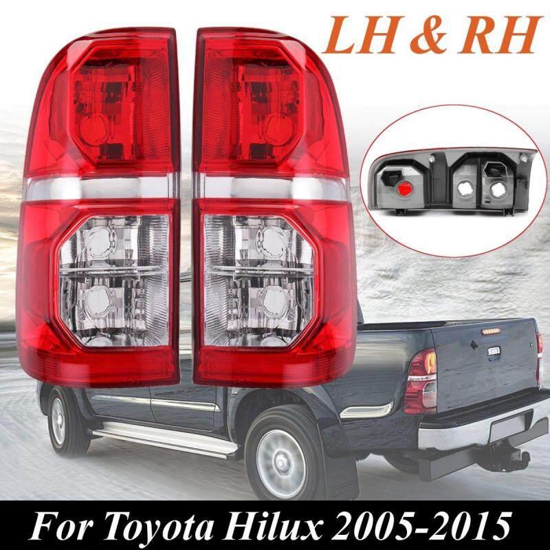 Cặp Mới Trái + Đèn Đuôi Phải Màu Đỏ Đèn Phanh Cho Toyota Hilux 2005-2015-