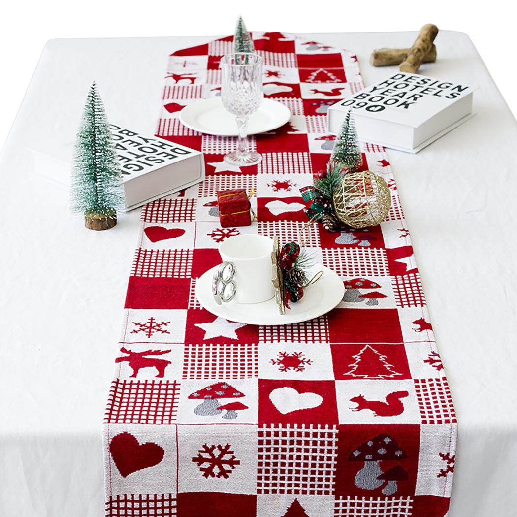 Christmas Table Runner Decorative Dining Table Runner Christmas Table Decoration