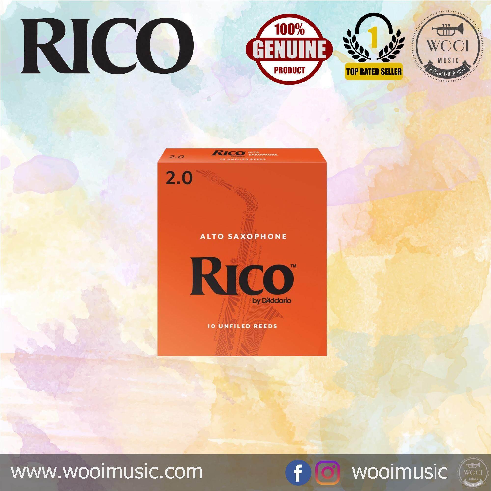 Rico Alto Saxophone Reeds 2 (10/pack)