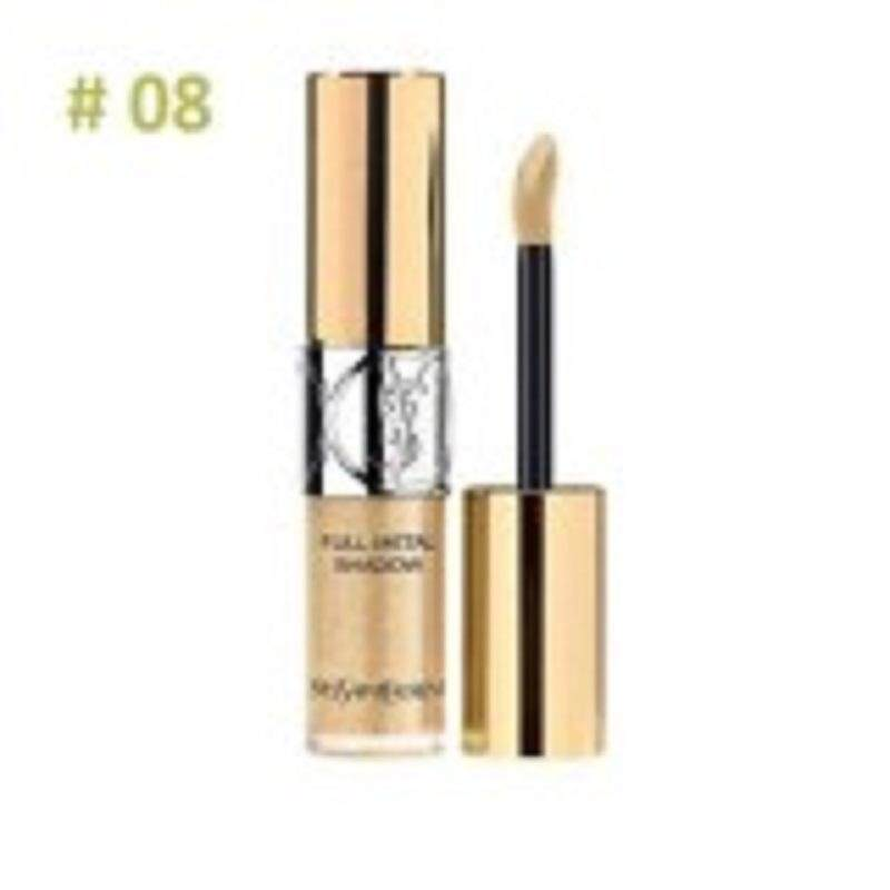 BRANDED FULL METAL EYE SHADOW STEAMY DEWY GOLD 08 WITH FREE LIP LINER
