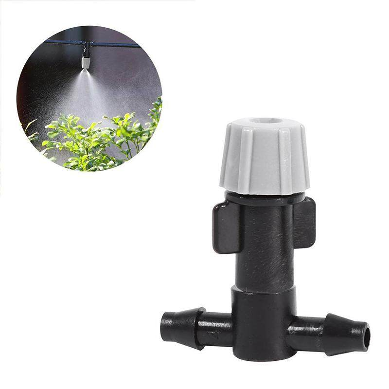 50PCS Plastic Mist Misting Nozzle Sprinkler Tee Joints For Misting Watering Plant Flower Cooling System Home Garden Irrigation